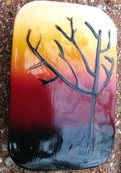 Autumn's End Polymer Clay Altoid Tin, via Flickr.