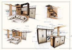 Exploring Interior Motoryacht Concept on Behance