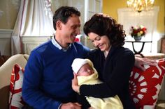 Scandal -- Mellie Grant had perfect hair