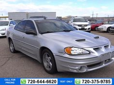 2004 Pontiac Grand Am GT SILVER $5,995 183257 miles 720-644-6620 Transmission: Automatic  #Pontiac #Grand Am #used #cars #WowAutomotive #Longmont #CO #tapcars