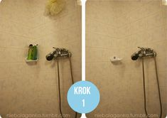 How to clean the shower