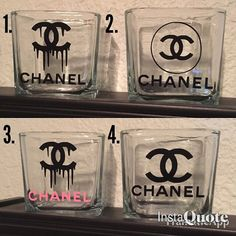 Items similar to Make-up brush holder on Etsy Make-up brush holder by ACDecals on Etsy<br> Chanel Room, Chanel Decor, Chanel Birthday Party, Chanel Party, Glamour Decor, Creation Deco, Jewelry Organization, Diy Gifts, Creations