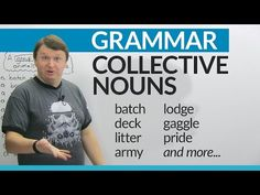 Collective Nouns in English: How to talk about groups of people and things · engVid