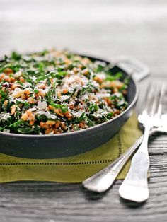 Farro & Kale Salad (Cooking School: Blue Hill at Stone Barns Restaurant - Traditional Home)
