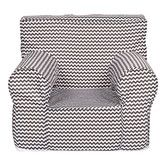 Found it at Wayfair - Ombre Gray Kids Accent Chair
