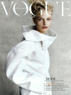 Frederikke Sofie - Jil Sander F/W 16.17 Vogue Germany