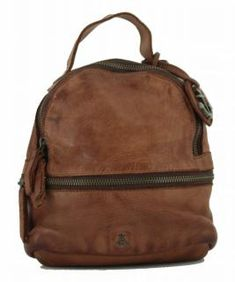 !!!Mini Rucksack Harbour2nd Sissy Cognac Anchorlove braun Vintage Stil, Rind, Backpacks, Bags, Leather Cord, Handbags, Backpack, Backpacker, Bag