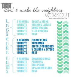 Living in an apartment building, this is a great early morning workout!