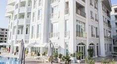 Featuring an outdoor pool, on-site bar, restaurant and free Wi-Fi, Palace Hotel & SPA is next to the sea and has its own private beach area. Palace Hotel, Hotel Spa, Albania, Outdoor Pool, Restaurant, Spaces, Beach, Holiday, Vacations