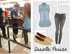 """""""Danielle Peazer #5"""" by mari-mmp ❤ liked on Polyvore"""