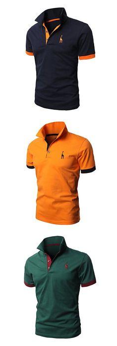 Son los camisetas de polo para el uniforme. Los estudiantes pueden tomar a escuela. Son colores de negro, amarillo, y verde. Son queda bien.