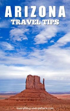 Travel to Arizona consists of visiting popular tourists attractions with the Grand Canyon and Monument Valley topping the list of must-visit tourist destinations.