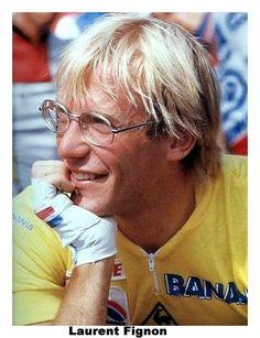 Laurent Fignon vainqueur sur le Tour de France 1983 dés sa premiere participation