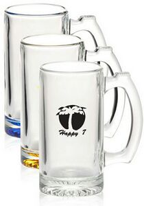 12.5 Oz. Libbey Glass Sports Beer Mug