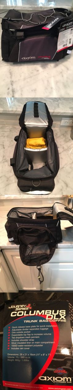 Bags and Panniers 177833: Axiom Bicycle Trunk Bag -> BUY IT NOW ONLY: $34.0 on eBay!