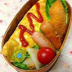 おはようございます。 月曜日が始まりました〜。昨晩は鼻がつまってあまり熟睡出来ませんでした〜苦しくて さて今日は… 野菜たっぷり入れたオムライス 白身魚フライ 冷食 ウィンナー ちーかま 愛情 今週も元気よくん〜✨✨ - 82件のもぐもぐ - 3月23日お弁当… by momo12345