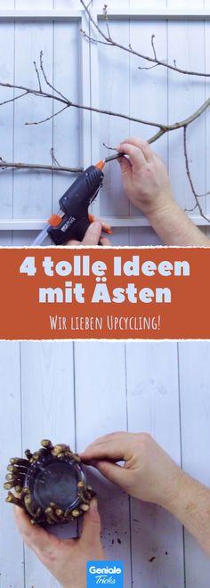 4 Tipps, mit Stöcken die Wohnung zu gestalten.