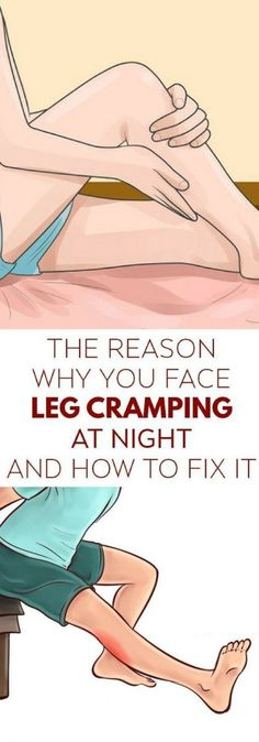 """Legs cramping are a very common occurrence especially during the night. If this is something that happens to you it is usually unexpected and they happen like fast spasms or Continue reading """"Reasons Why Your Legs Cramp Up At Night And How To Fix It"""" Health Tips, Health And Wellness, Health Fitness, Health Benefits, Mental Health, Mans Health, Women Health, Health Club, Health Articles"""