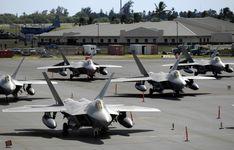F-22 Raptor's
