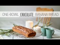 One-bowl Moist Chocolate Banana Bread | Pick Up Limes | Nourish the Cells & the Soul