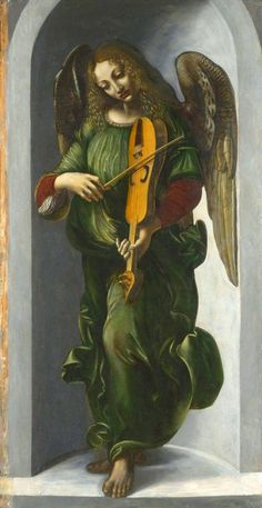 MusicArt ANGELS PLAYING MUSICAL INSTRUMENTS Italian Renaissance Art. Here's another example of LUTE.Benedetto Bembo, Castle Sforzesco, Milan, …