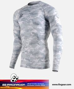 2e2eeee9a90 FIXGEAR CFL-M1G Compression Base Layer Shirt. SafekeePIN · Men s Workout  Clothing ...