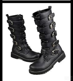 9cb18885f05 7 Best Motorcycle Boots Men images in 2014 | Black thigh high boots ...