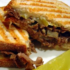 Cheesesteak Panini Recipe | Key Ingredient