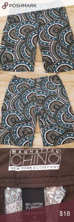 New York & Company Shorts New York & Company Manhattan Chino Bermuda Shorts Size 4 New York & Company Shorts Bermudas