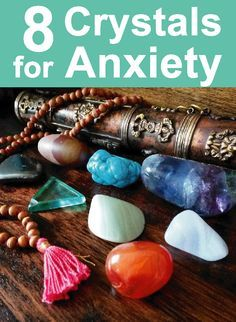 Crystals for Anxiety: Use these calming crystals to calm your mind, stay centred and bring back your chill. Crystal healing tips, crystal guide, crystal blog #crystals