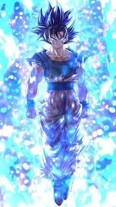 Goku ultra instinct By: Mattari_illust Wallpaper Do Goku, Dragon Ball Z Iphone Wallpaper, Wallpaper Animes, Animes Wallpapers, Dragonball Wallpaper, Hd Wallpaper, Dragon Ball Gt, Dragon Ball Image, Bild Tattoos