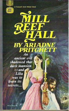 """Mill Reef Hall"" Ariadne Pritchett original cover art by Harry Bennett"