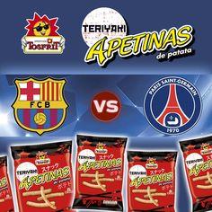 Partido de vuelta de los octavos de champions entre #Barcelona y #PSG, dos equipazos que irán a por todas para conseguir su pase a los cuartos de final.   ¿Quién crees que ganará el partido? Dinos quien crees que ganará en nuestro #sorteo de #facebook y entre todos sortearemos 3 lotes de nuestras nuevas #Apetinas #Teriyaki.