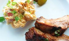 Gour-Maybe?: May the 4th Be With You...Ribs with Homemade BBQ Sauce, and Three Potato Salad with Bacon and Mustard