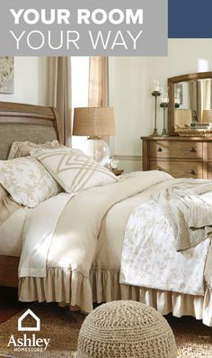 Your home is more than a house - it's the daily moments and experiences you share that make it uniquely you. At Ashley HomeStore, they celebrate being home with you. Their locally owned and operated stores are passionate about being the best and most affordable furniture store for your home. You can also check them out online at AshleyHomeStore.com.