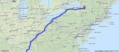 Driving Directions from New Hartford, New York to Nashville, Tennessee | MapQuest