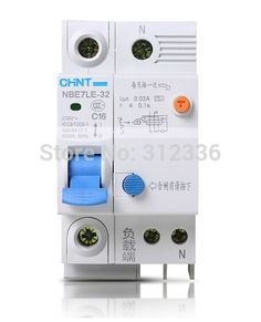 33.48$  Buy here - http://ai2p0.worlditems.win/all/product.php?id=32219456511 - Free Shipping Two years Warranty  LE C16 1P+N 16A  1 pole ELCB RCD earth leakage circuit breaker  residual current