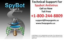 Need Technical #Support For #Spybot #Antivirus- Call: +1-800-244-8809