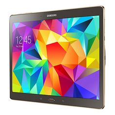 """Buy Samsung Galaxy Tab S 10.5 Tablet, Octa-Core Samsung Exynos, Android, 10.5"""", 16GB, Wi-Fi Online at johnlewis.com"""