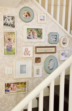 Inspiration Mash Up: 10 Vintage Inspired Gallery Walls - Bless'er House