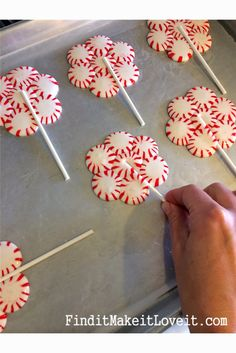 Bake starlight mints into lollipops for a sweet peppermint treat, or use them for decorations at your sweet candy land party!