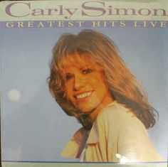 Carly Simon - Greatest Hits Live (Vinyl, LP) at Discogs