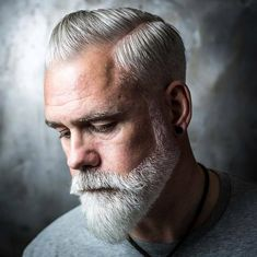 Glorious Hairstyles for Men With Grey Hair (a. Silver Foxes) 15 Glorious Hairstyles for Men With Grey Hair (a. Silver Glorious Hairstyles for Men With Grey Hair (a. Beard Styles For Men, Hair And Beard Styles, Short Hair Styles, Mustache Styles With Beard, Beards And Hair, Facial Hair Styles, Medium Beard Styles, Short Hair With Beard, Men Hair