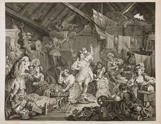 Strolling Actresses Dressing in Barn, 1738