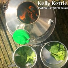 Mint Tea Anyone?  Thanks to Dave from trekandrun.com for sharing 😊  For a chance to win some free gear, please send us your #KellyKettle or #Outdoors pics on www.kellykettle.com or www.kellykettleusa.com 😊  #Camping #scouts #picnic #bushcraft #Trek #OffGrid #Survival