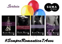 Sorteio #SempreRomantica7Anos - Suma de Letras
