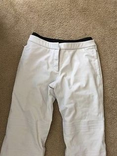 Prada Gore Tex Womens Gray Snow Pants Sz 46 / 12 *