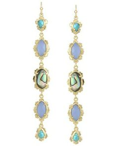 Zarita Long Earrings in Fiji - Kendra Scott Island Escape preview, in stores and online April 24, 2013 at 5pm CST.
