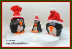 pinguini din cofraj de oua School Projects, Cool Kids, Penguins, Crafty, Children, Young Children, Boys, Kids, Penguin