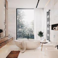 Home Remodel Joanna Gaines Interior Design Examples, Loft Interior Design, Interior Design Inspiration, Bathroom Inspiration, Bathroom Ideas, Dream Bathrooms, Beautiful Bathrooms, Modern Bathroom Design, Bathroom Interior Design